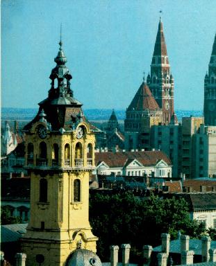 Towers of Szeged